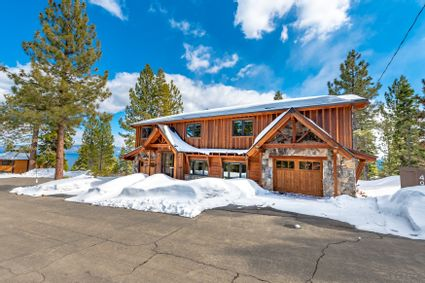 exterior of tahoe home