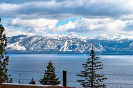 view of lake tahoe from house