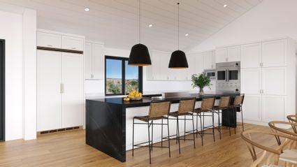 rendering of modern kitchen