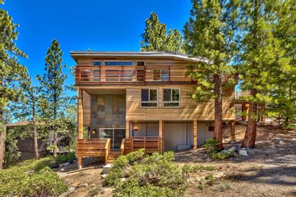 exterior of tahoe house