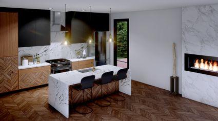 rendering of kitchen