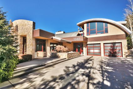 exterior of home with two car garage