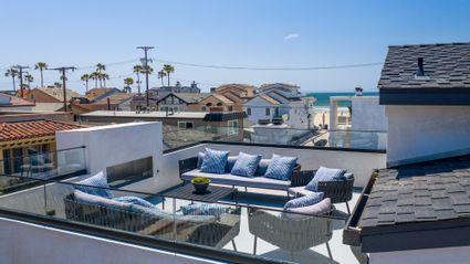 rooftop deck near beach