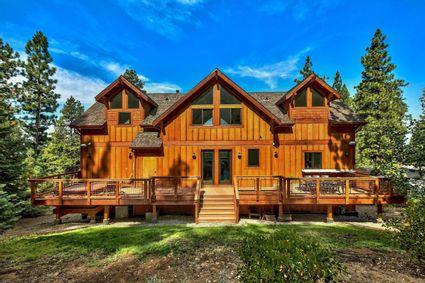 wooden cabin exterior